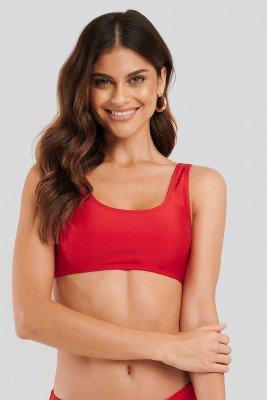 NA-KD Swimwear Bikinitop - Red