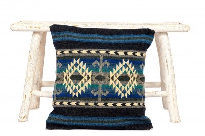 EcuaFina Kussentje Native Cotopaxi - Blauw