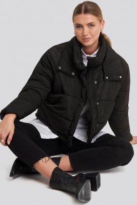 Rut&Circle Rut&Circle Carro Puff Jacket - Black