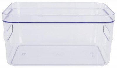 HEMA HEMA Deksel Voor Opbergdoos 20x29x2 Helsinki Transparant