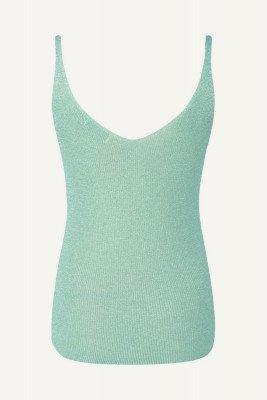 Ambika Ambika Shirt / Top Groen Singlet lurex