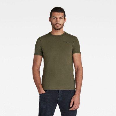 G-Star RAW Slim Base T-Shirt - Groen - Heren