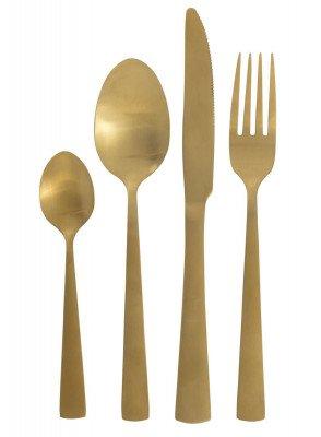 HEMA HEMA 16-delige Bestekset Copenhagen Goud (Gold)