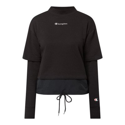 Champion Custom fit sweatshirt in 2-in-1-look