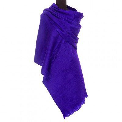 EcuaFina Alpaca sjaal of omslagdoek - Paars - EcuaFina - Tip2021