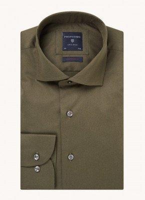 Profuomo Profuomo Super slim fit overhemd met stretch
