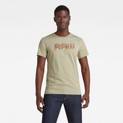 G-Star RAW RAW. HD T-Shirt - Groen - Heren