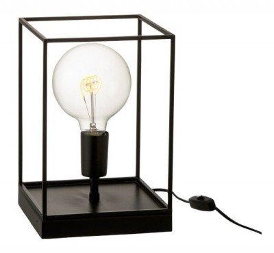 J-Line J-Line Rechthoekige Lamp 'Huberta' Small, kleur Zwart