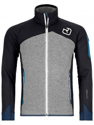 Ortovox Ortovox Fleece Plus Fleece Jacket zwart