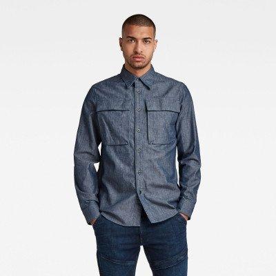 G-Star RAW Navy Seal Regular Shirt - Donkerblauw - Heren