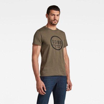 G-Star RAW GS89 Graphic T-Shirt - Groen - Heren