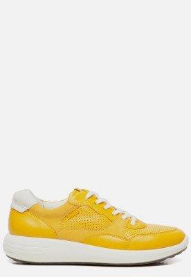 ECCO Ecco Soft 7 Runner sneakers geel