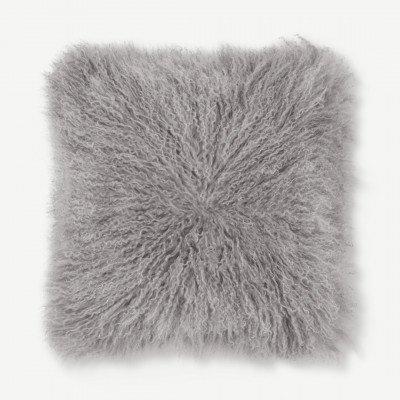 MADE.COM Haddie kussen, 45 x 45 cm, grijs