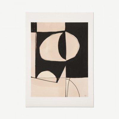 MADE.COM The Poster Club, Contraste, print door Anna Johansson, 50 x 70 cm