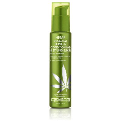 Giovanni Giovanni Hemp Hydrating Leave-in Conditioning and Styling Elixir 118ml