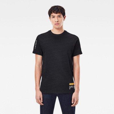 G-Star RAW Pazkor Multi Graphic T-Shirt - Blue - Heren