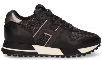 Hogan Hogan H383 Zwart Damessneakers