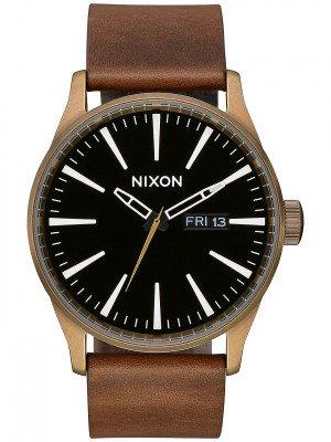 Nixon The Sentry Leather bruin