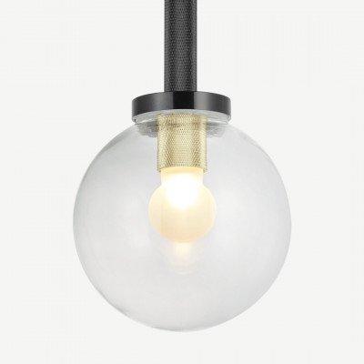 MADE.COM Vaughn badkamerhanglamp, zwart