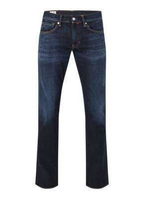 Kings Of Indigo Kings of Indigo Ryan straight fit jeans met donkere wassing