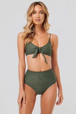 NA-KD Swimwear NA-KD Swimwear Bikinibroek - Green