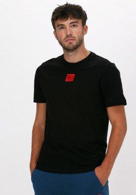 HUGO Zwarte Hugo T-shirt Diragolino212 10229761