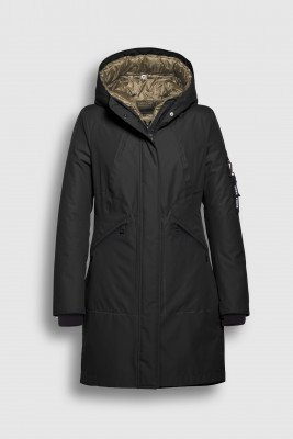 Creenstone Creenstone 3 in 1 Raincoat with detachable quilted jacket - Black