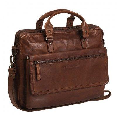 Chesterfield Chesterfield Bags Leren Laptoptas 15 inch Rene Cognac