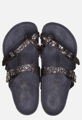 Birkenstock Birkenstock Mayari Metallic Stones slippers zwart