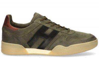Hogan Hogan H357 Groen Herensneakers