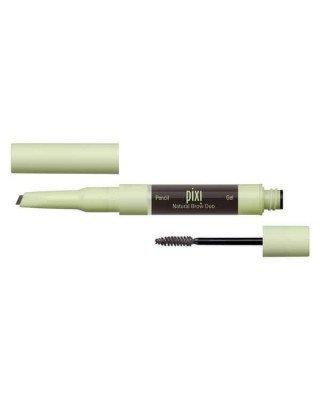 Pixi Pixi - Natural Brow Duo - Soft Black - 2,5 ml