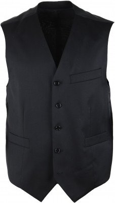 Suitable Gilet Piga Zwart - Zwart maat 52