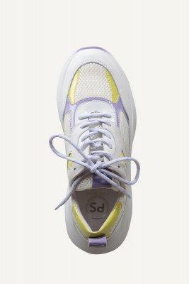 Poelman Poelman Sneaker Wit LPCIBEL-01POE