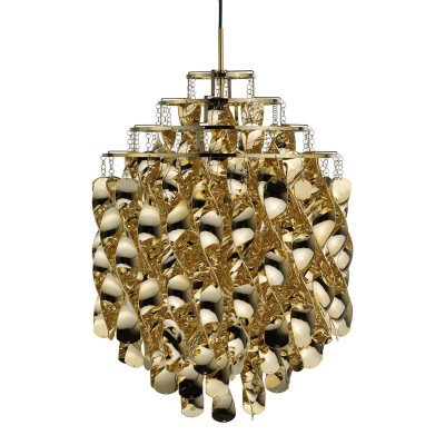 Verpan VERPAN Spiral SP01 - hanglamp in goud