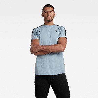 G-Star RAW Lash Tape T-Shirt - Midden blauw - Heren