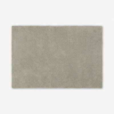 MADE.COM Mala groot vloerkleed, extra groot, 200 x 290 cm, zacht taupe