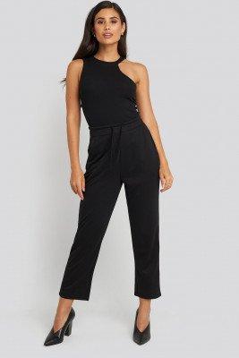 NA-KD Basic NA-KD Basic Basic Slip Pants - Black