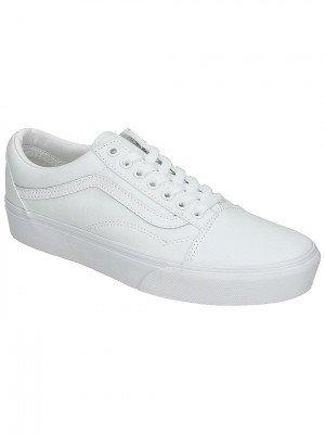Vans Vans Old Skool Platform Sneakers wit