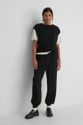 Mango MANGO Bombay Trousers - Black