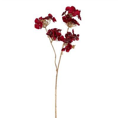 Firawonen.nl Hydrangea Flower red gold hydrangea spray