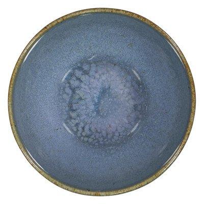 HEMA HEMA Schaal - 10 Cm - Porto - Reactief Glazuur - Blauw (blauw)