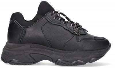 Bronx Zwarte Bronx Lage Sneakers Baisley