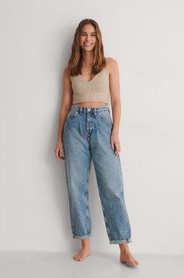 Calvin Klein Calvin Klein Wijd Jeans - Blue