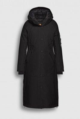 Creenstone Creenstone Long techno-stretch coat - Black