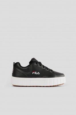 FILA Leren Sneakers - Black
