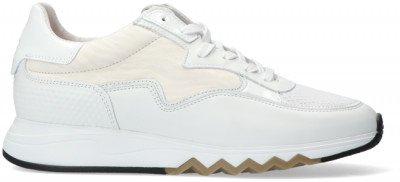 Floris van Bommel Witte Floris Van Bommel Lage Sneakers 85334
