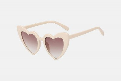 Blank-Sunglasses NL AMOR. - Nude with brown