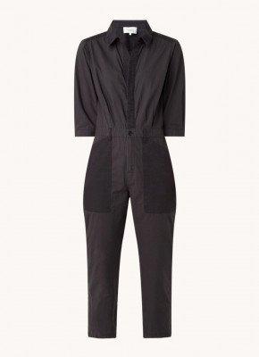 BAenSH ba&sh Kalista straight fit jumpsuit met opgestikte zakken