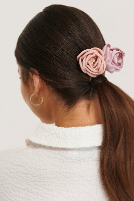 NA-KD Accessories NA-KD Accessories 2-Pack Vintage Look Blossom Hairclips - Pink
