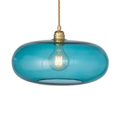 Ebb en Flow EBB & FLOW Horizon hanglamp zeeblauw Ø 36cm